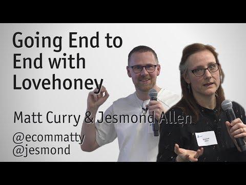 """Going End to End with Lovehoney"" - Matt Curry & Jesmond Allen"