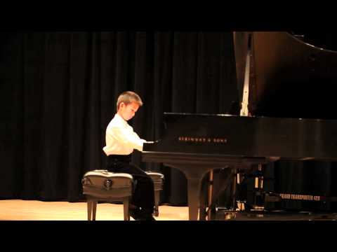 Hao's Recital at City Music Center Part 1: Piano