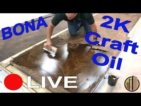 Bona 2K Craft Oil Live Demo at City