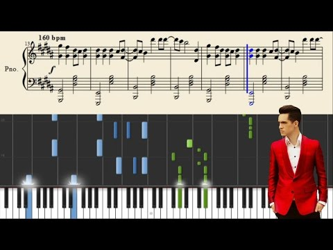 Panic! At The Disco: Hallelujah - Piano Tutorial + Sheets