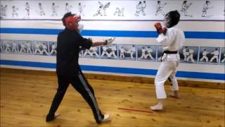 Wing Chun vs Karate,Чита ушу, ушу против каратэ,Russia(2016 год клуб Скиф-s товарищеские поединки между школами карате и УШУ NCWC (на видео ученик школы школы киокушин..., 2016-01-20T17:27:45.000Z)