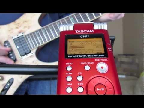 GUITAR TONE - TASCAM GT-R1 SOUND DEMO