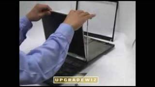 instructions how to replace a laptop screen