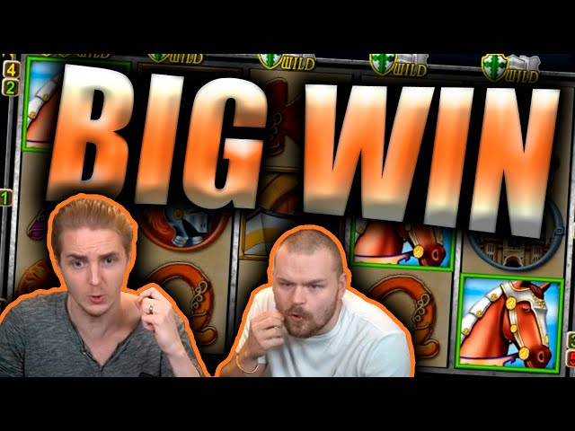 BIG WIN on KNIGHT'S LIFE Slot