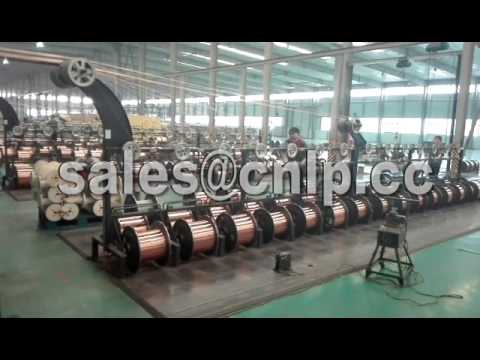 Copper Winding Wire Production process--ZhengZhou LP Industry Co,.LTD