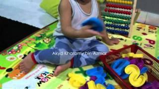 Akyd mengenal ABC dan 123 #19m