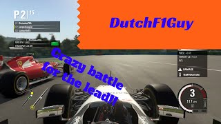 CRAZY BATTLE FOR THE LEAD - F1 2015 Online Race