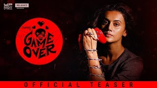 Game Over | Official Teaser | Taapsee Pannu | Ashwin Saravanan | Y Not Studios | June 14