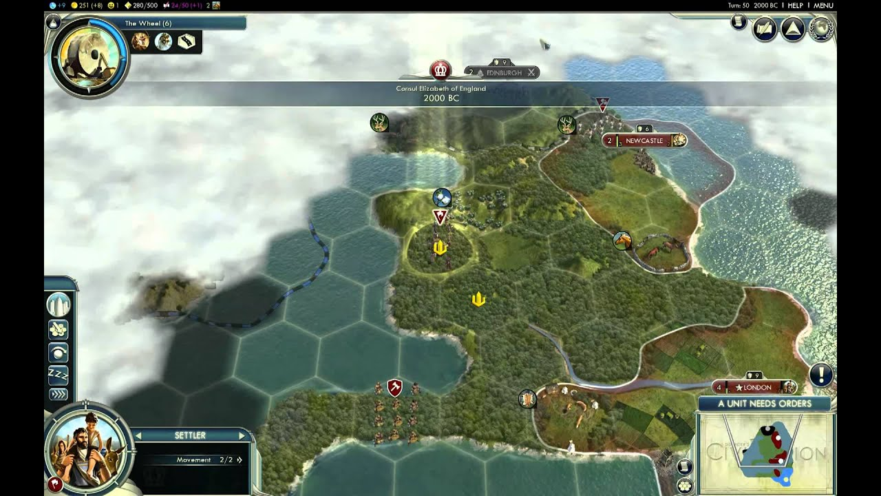 Lets Play Civ 5 England Giant Earth Map Episode 1 Part 2 – Civ 5 World Map