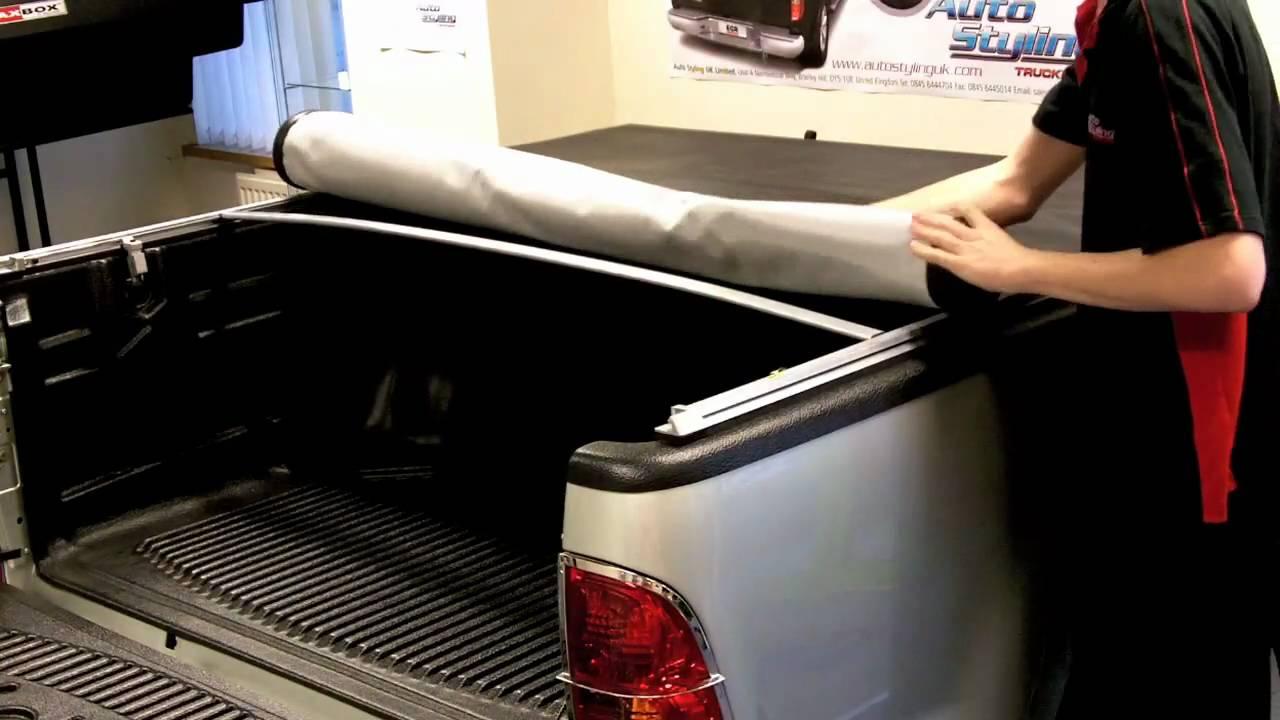 Soft Tonneau Cover >> Truckman - How to Re-Attach the New EGR Soft Tonneau Cover ...