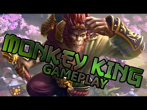 Dota 2 Gameplay Monkey King | Lets Play Dota2 (german/deutsc