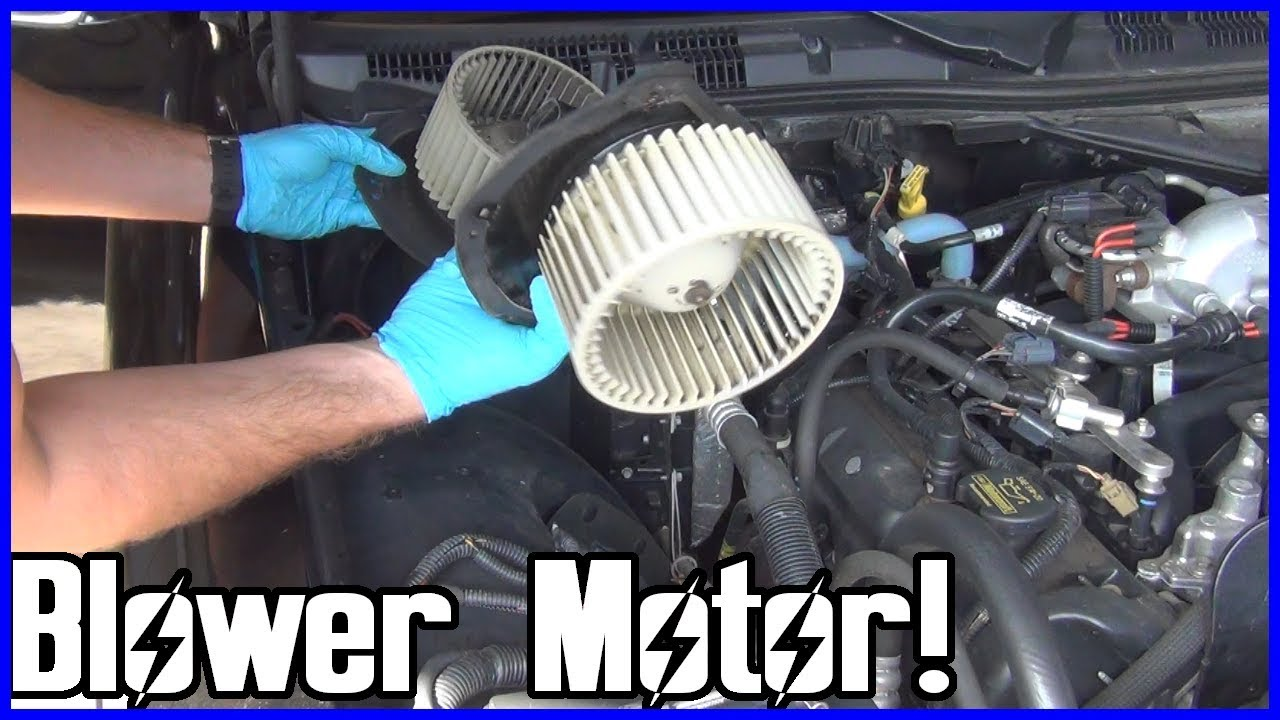 How to Replace the A/C Blower Motor Ford Crown Victoria ...
