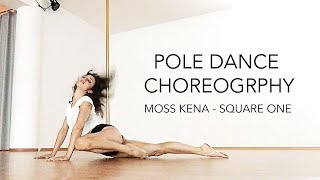 Pole Dance Choreography to Moss Kena / Beginners - Intermediate