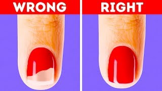 26 NAIL POLISH HACKS AND CRAFTS