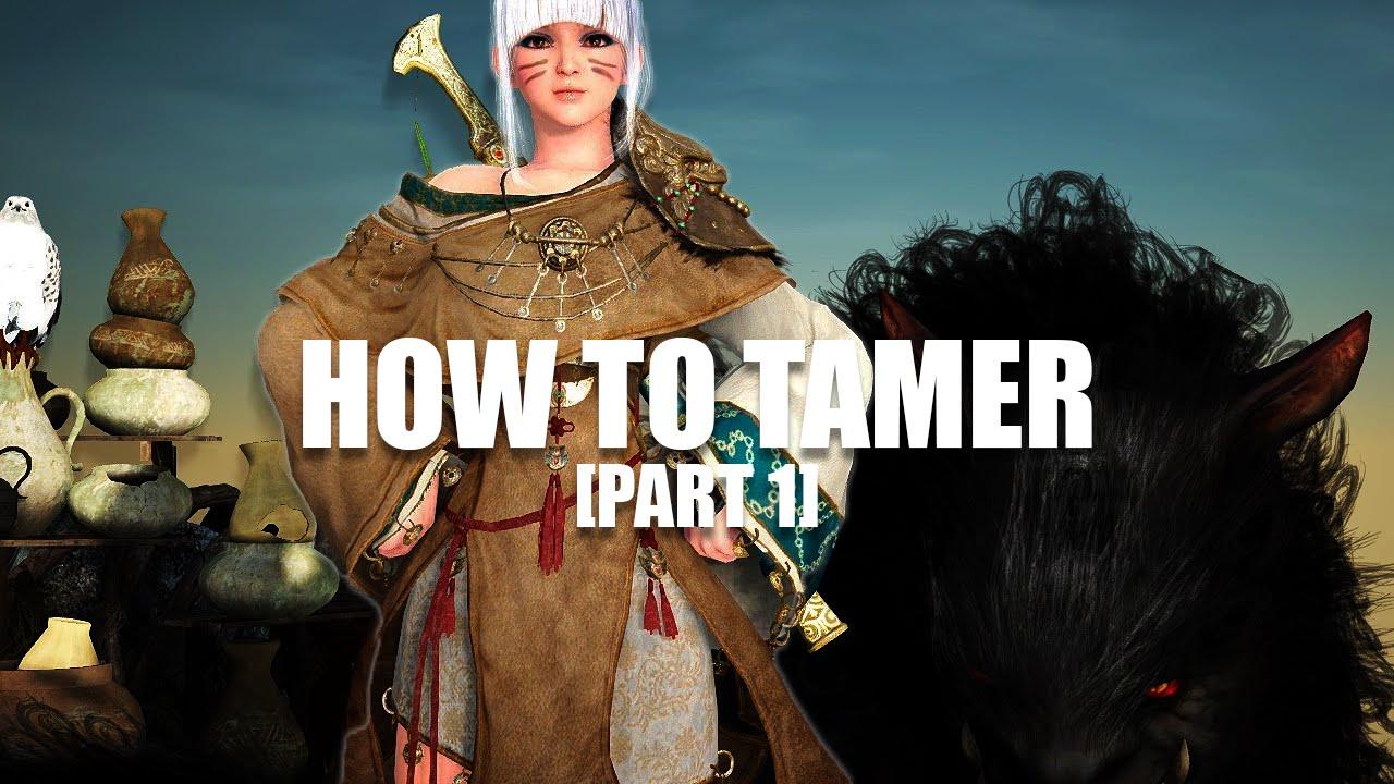 Black desert tamer guide