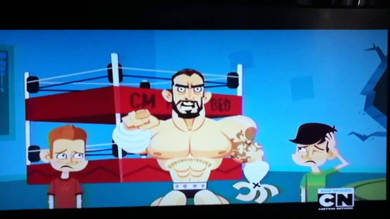 Cm Punk Beds Mad Cartoon Network Segment