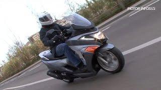 Essai scooter Daelim Steezer 125