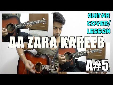 Aa Zara Kareeb Se | Murder 2 | Sunidhi Chauhan | Guitar Cover + Lesson
