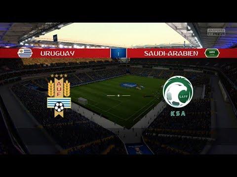 Fifa Wm 2018 Prognose Uruguay Saudi Arabien Gruppe A Youtube