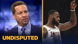 Chris Broussard thinks LeBron James should be more 'we and us' for the Los Angeles Lakers. Find out why Broussard says LeBron gets half of the blame and ...