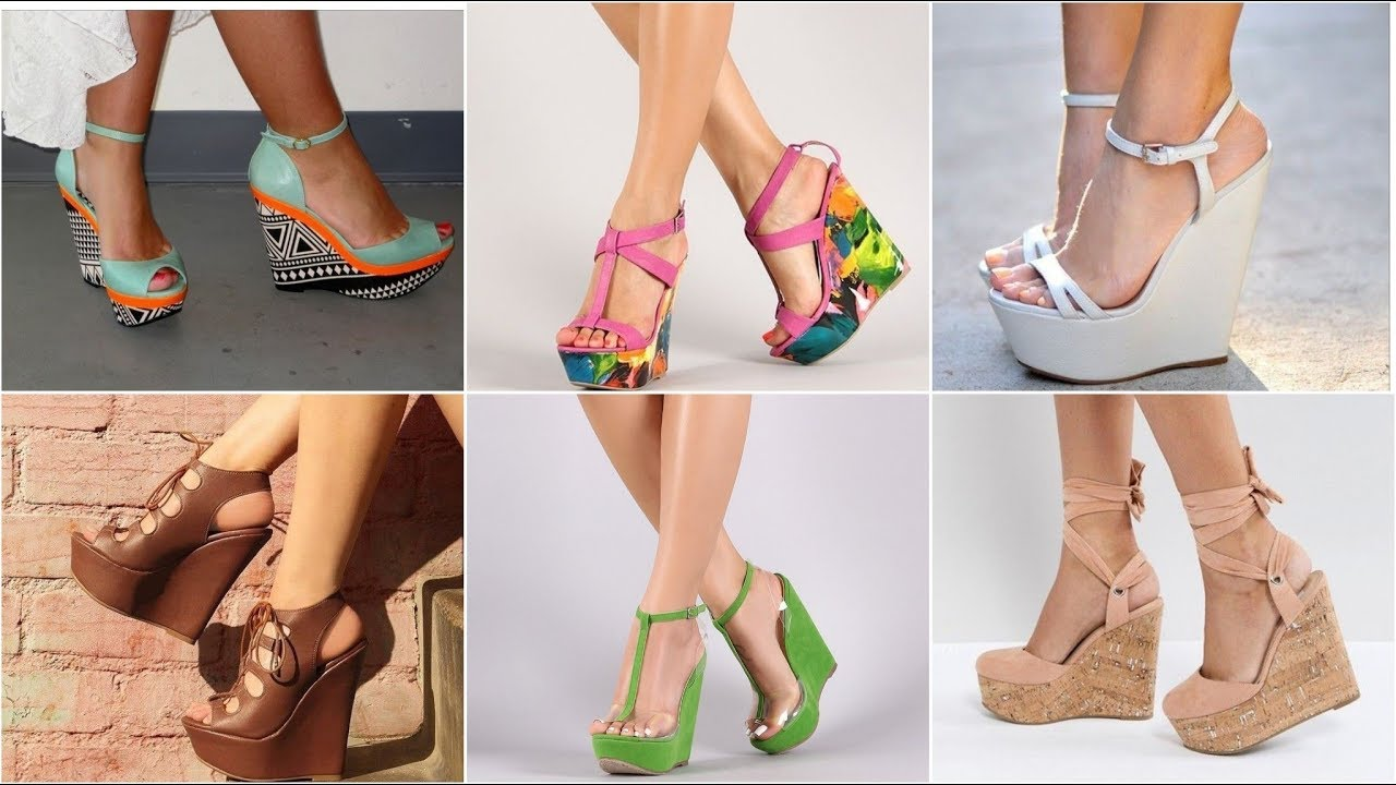 Latest Wedges Sandal Collection | High