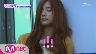 [ENG sub] [TWICE Private Life] Tzuyu's KISSES on the subway♡ EP.03 20160315