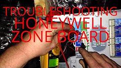 HVAC Service: Troubleshooting Honeywell Zone Board