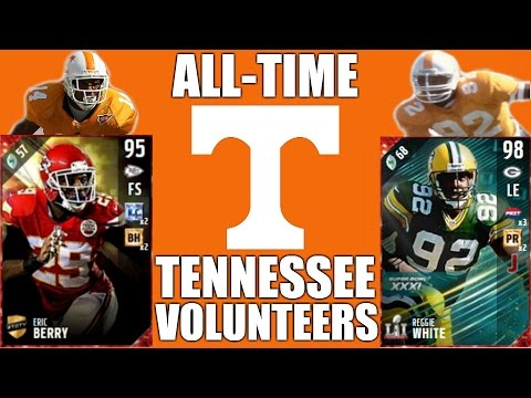 All-Time Tennessee Volunteers Team - Eric Berry and Reggie White! - Madden 17 Ultimate Team