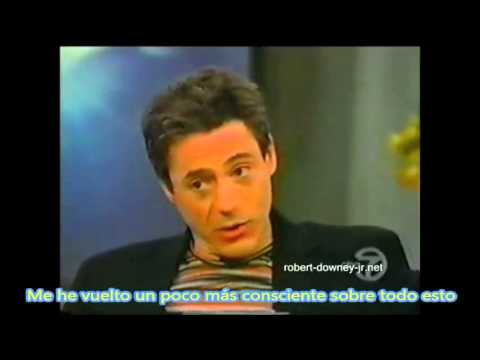 Robert Downey Jr with Oprah 1