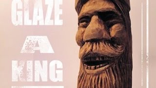 Wood Carve A King (part 3) Antique Finish Glaze Stain Gel Polyurethane