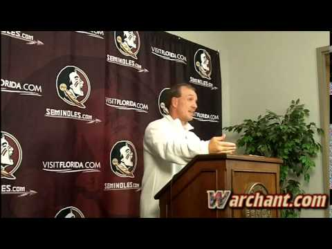 Jimbo Fisher's weekly press conference - Post Clemson Game