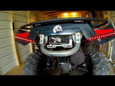 SIMPLE CUSTOM ATV LED TAIL LIGHTS!!