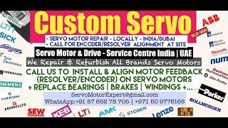 Custom Servo Dubai Heidenhain Sick Stegmann Encoder Memory Align Resolver Adjust Repair UAE