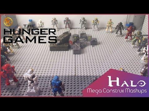 THE SPARTAN GAMES | A Halo Mega Construx Mashup