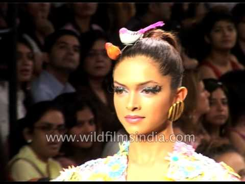Deepika Padukone presents Manish Arora's collection