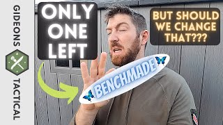 One Benchmade Knife Lęft But Should We Change That??