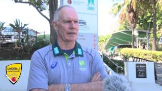 Greg Chappell applauds the Under 17 Championships changes