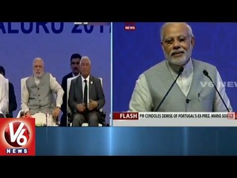 PM Narendra Modi Addresses Pravasi Bharatiya Divas | Bangalore | V6 News
