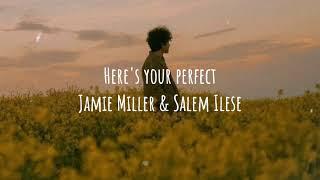 (1 Hour Lyrics) Here's Your Perfect - Jamie Miller & Salem Ilese🎵