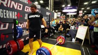 Dmitry Klokov at the Arnold 2016
