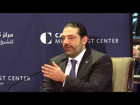 Saad Hariri and Maha Yahya | Lebanon in a Turbulent Region