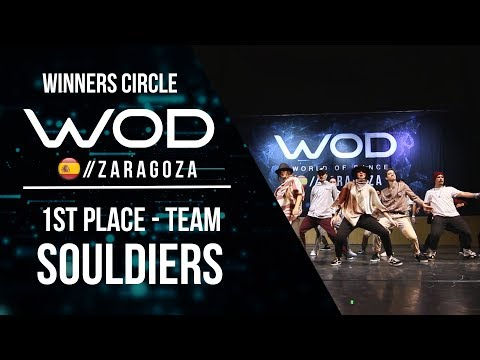 SOULDIERS | 1st Place Team | Winners Circle | World of Dance Zaragoza 2017 | #WODZGZ17
