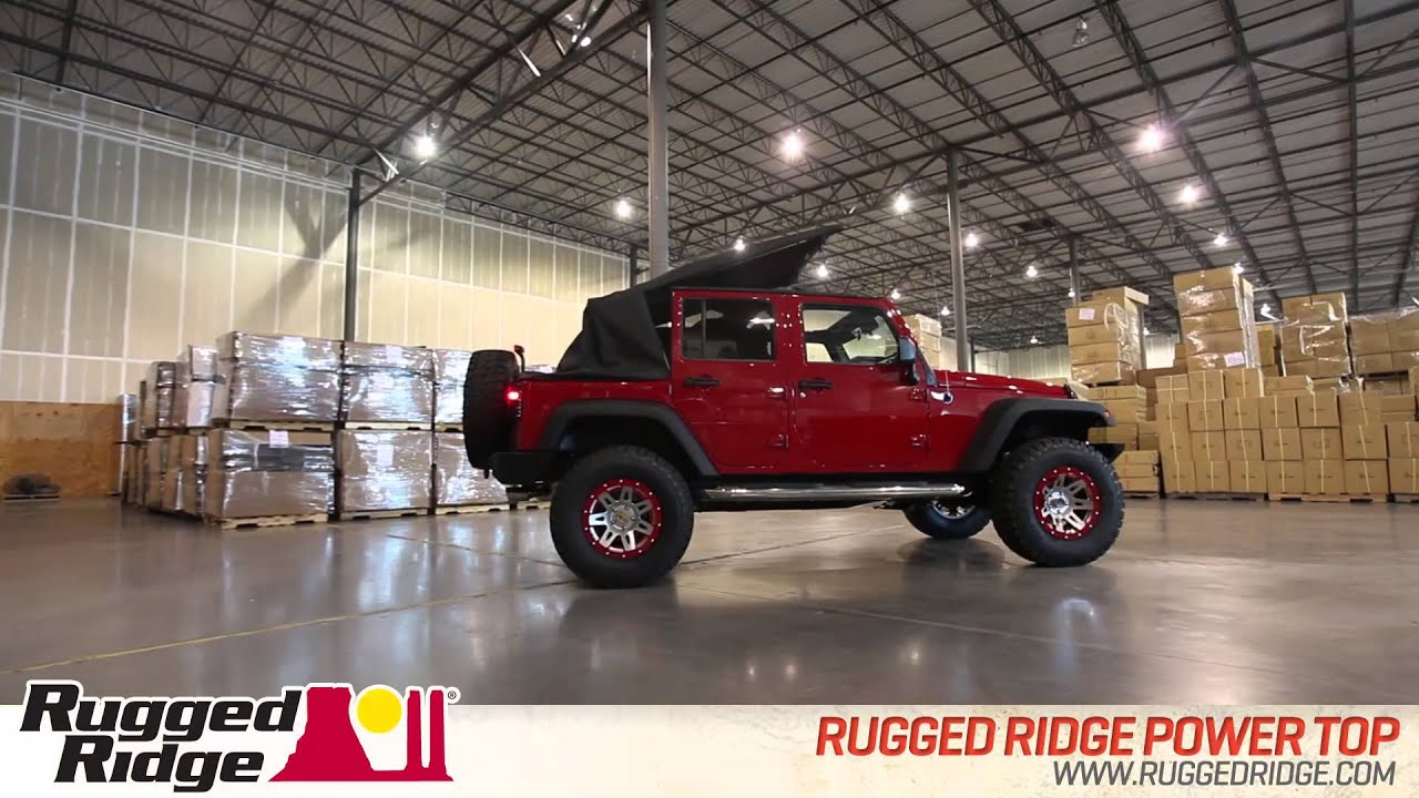 Rugged Ridge Jeep PowerTop