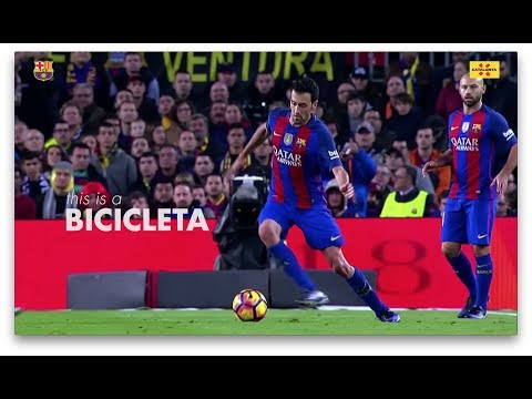 "Things about Catalonia that are linked to Barça: Lesson 1 ""Bicicleta"""