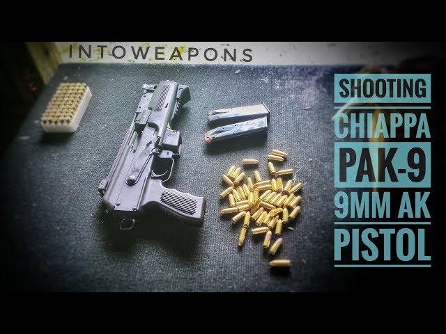 Chiappa PAK-9 9mm AK Pistol Review