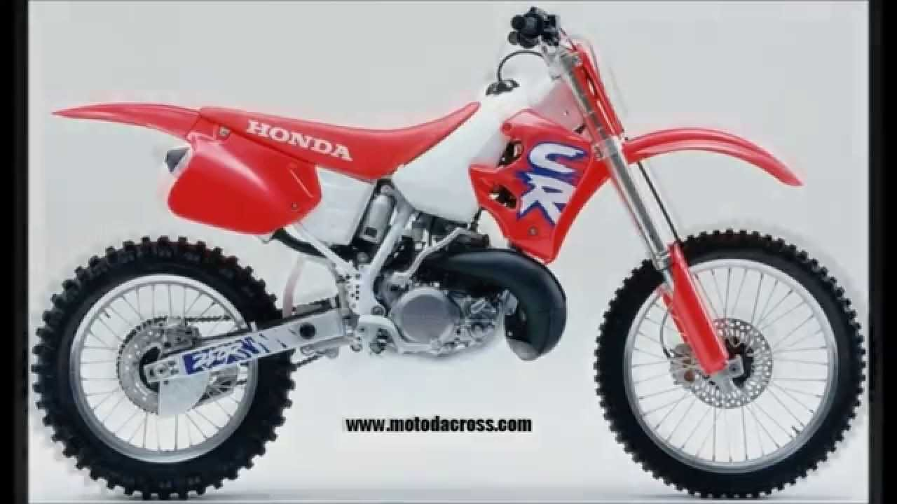 evolution of honda cr 250 from 1973 to 2007 youtube. Black Bedroom Furniture Sets. Home Design Ideas
