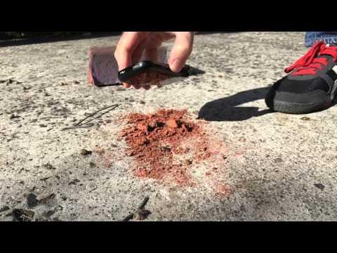 Palm Treo vs Sledgehammer