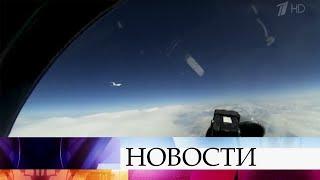 Российский истребитель Су-27 был поднят в воздух для перехвата самолета-разведчика Швеции.