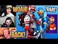 Streamers React to *RARE* Alpine Ace and Mogul Master BACK in the Item Shop! - Fortnite Moments