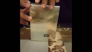 Mont blanc individuel unboxing and a teste